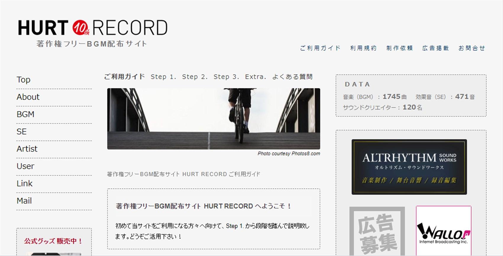 HURT RECORD